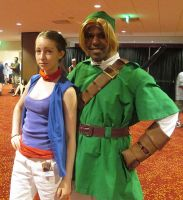 Tetra and Link by R-Legend