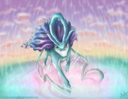 Suicune by Forest-Sprite
