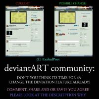 CHANGE DEVIANTART FEATURE LAYOUT update by ExaltedPoet