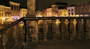 Gouda City Hall Stairs by CyranoInk