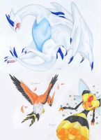 Pokemons 4 by Dawn22Eagle