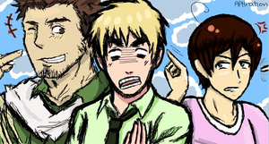 iScribble: Turk, Eng, Roma by APHnation-England