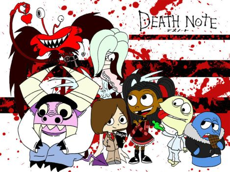 Fosters Death Note Cast by cgaussie