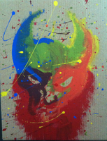 Splatter Painting by zarhx