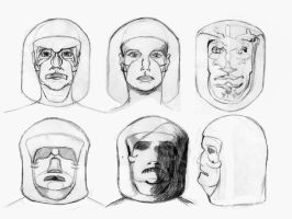The Face on Mars, Sketches 1 by Slipinslider