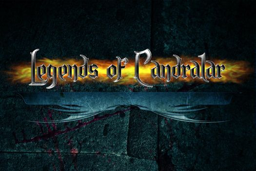 Legends of Candralar Logo by castortroy3497
