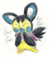Cheryl da Emolga :AT: by Proshi