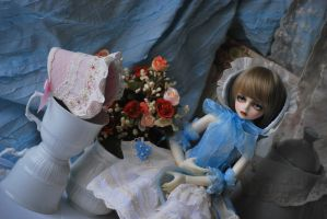 Doll and porcelain by aniszyma