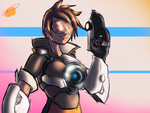 Overwatch - Tracer by Twisted4000
