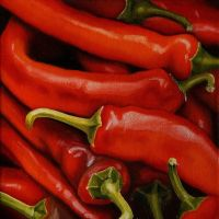 Red Peppers by Lillemut