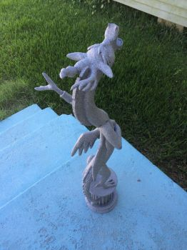 Discord 3D Print Back view by faust2152