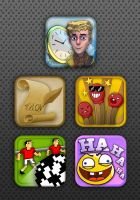 Appstore icons by Duffator