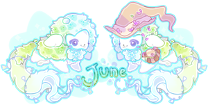 June Burple RAFFLE *WINNER ANNOUNCED* by moonbeani