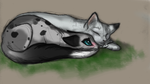 Activity Check Part 2:  Sniffles RP Illustration by Sky-Lily