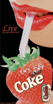 live strawberry by sraaa
