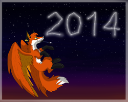 2014! by iFoxSpirit