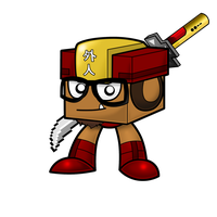 Gaijin Cube (Mighty No. 9) by GaijinGoombah