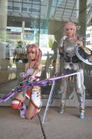 Lightning Serah: Attack Power by LucidxEnigma