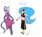 Skye and Stormy: Swapped!! by Skye-TheHedgehog
