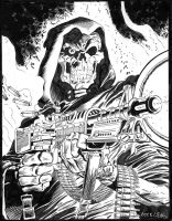 Death G.I. Joe #43 Cover - Zeck - Egli - Inks by SurfTiki