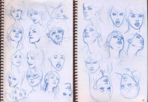 faces sketch 01 by pansica