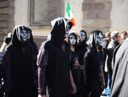 Cosplayers in Lucca 2012 04 by st2wok