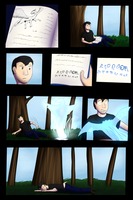 New begining of story page 1 (commison) by Tomek1000