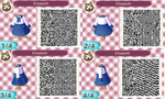 Animal Crossing QR Code Elizabeth Comstock by TeaganLouise