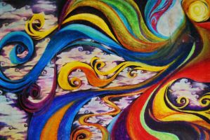 Oil Pastels - Creation by Cat-s-Art