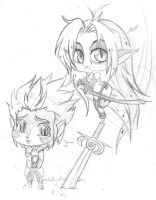 chibi thunderkittens by SisterBelldandy
