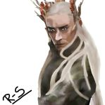 Thranduil - The Elvenking by Chinese-Toad