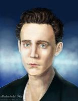 Tom Hiddleston by MokutekiWa