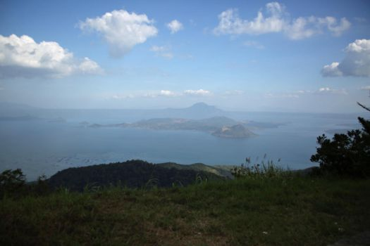 Overlooking Taal by LlladnaR