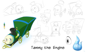 Tammy Model Sheet by KicsterAsh