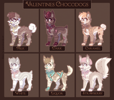 Valentines Chocodogs Auction - CLOSED by ghostblush