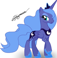 Princess Luna by MusicBrushLoveland