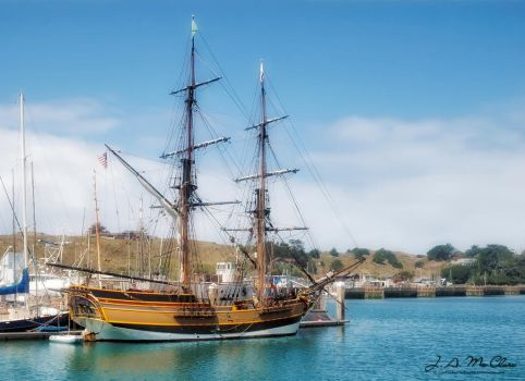 The Lady Washington by CanYouSeeTheRealMe