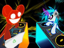 NATG 9: Mau5 and P0n-3 by Thattagen