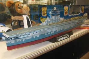USS Hornet CV-8 Doolittle Raid Model by rlkitterman