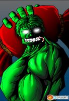 The Incredible Grinch by Flo-Jitz