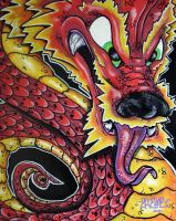 Red Dragon by ecce-one