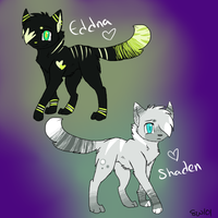 Eddna and Shaden by Blinded-By-Stones