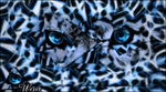 Blue Leopard by Wexxer