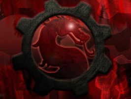 Gears of Kombat by sparky-werewolf