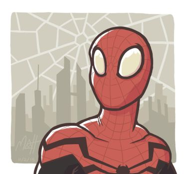 Superior Spidey by colourmefred