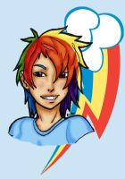 MLP:FiM Rainbow Dash by ninja-emo