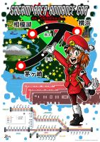 Sagamihara Development Railway, Promotion Poster 2 by ToniBabelony