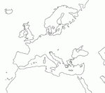 Blank Europe map by eddsworldbatboy1