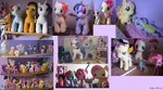 My MLP Collection as of July 2015 by LilyQueenOfPurple