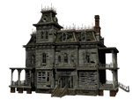 Haunted House 03 PNG Stock by Jumpfer-Stock